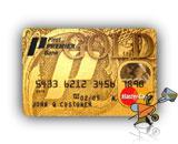 Gold MasterCard/Visa